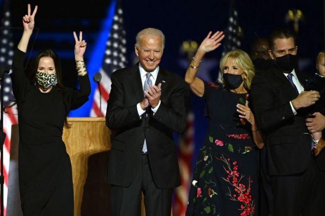 جو بايدن يفوز برئاسة الولايات المتحدة