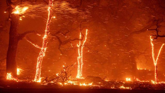 Incendio en California en 2018