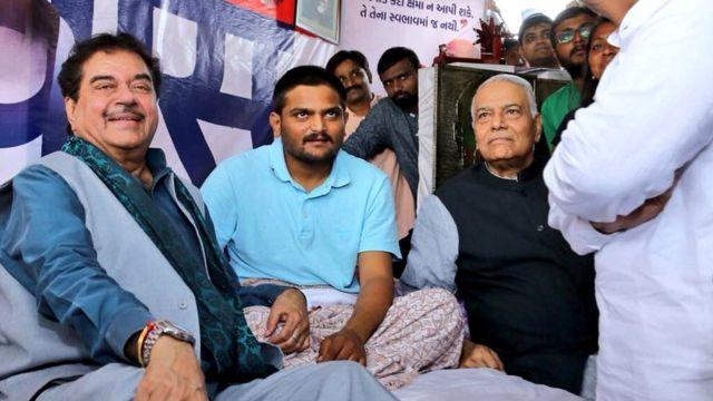 हार्दिक पटेल, अहमदाबाद में अनशन, पाटीदार आंदोलन