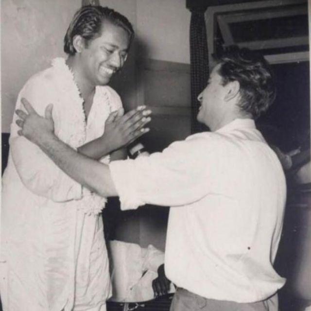 استاد سلامت علی خاں اور راج کپور