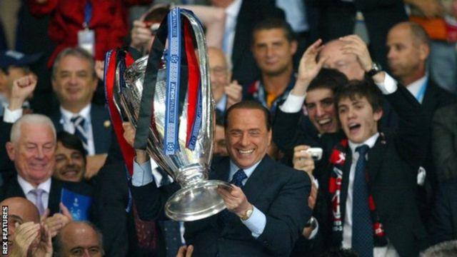AC Milan imeshinda mataji 29 chini ya umiliki wa Berlusconi