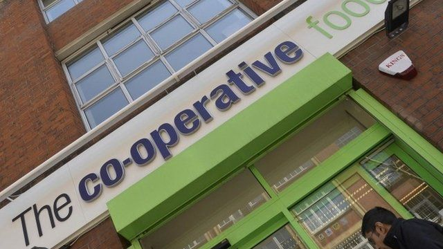 Co-operative grocery shop