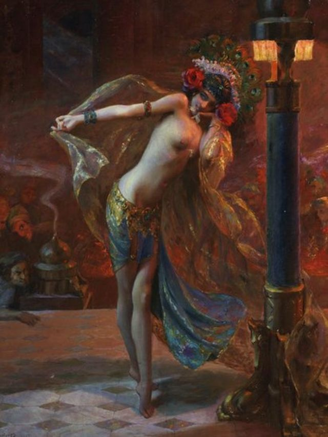 The Dance of the Seven Veils, by Gaston Bussière (1925)