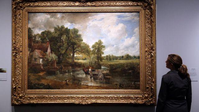 """Картина Джона Констебла """"Віз для сіна"""" (1821 рік) у Музеї Вікторії і Альберта"""