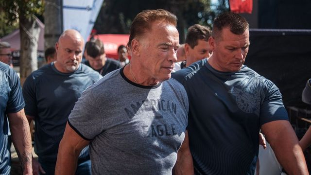 Schwarzenegger 'will not press charges' over South Africa attack