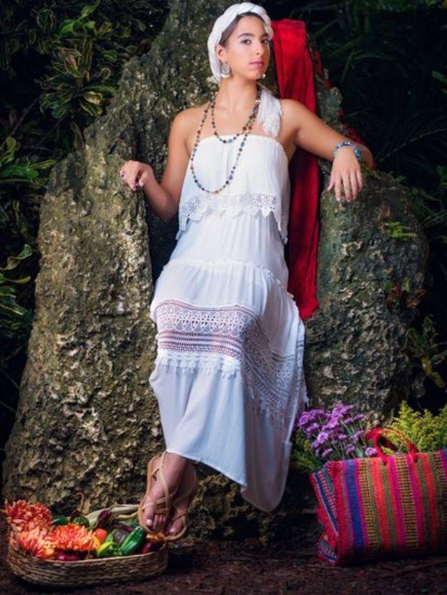 Mujer blanca mexicana