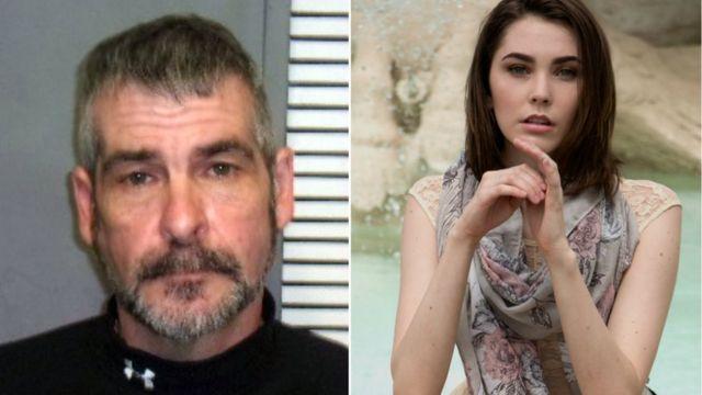John Cramsey e sua filha Lexii Cramsey