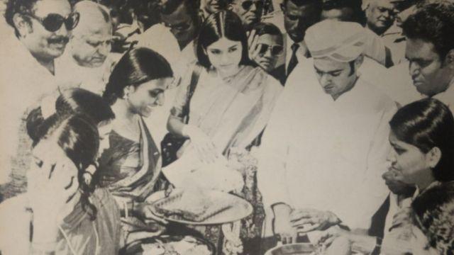 मेनका और संजय गांधी