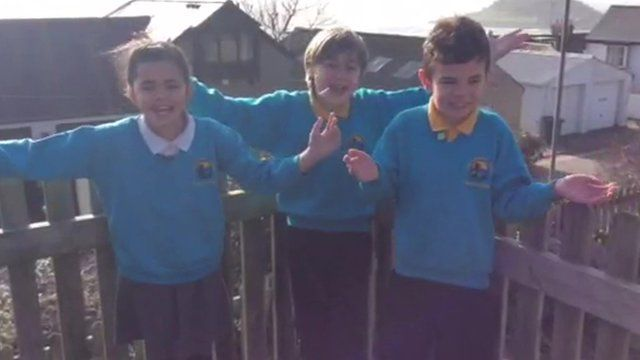 Kids tell Newsround how Storm Imogen has affected them