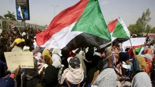 Sudan'da protestolar