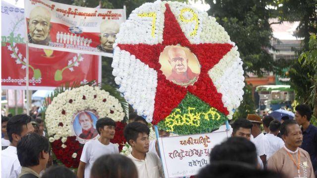 ရန်ကုန်၊ စစ်တွေ အပါအဝင် ရခိုင်ပြည်နယ်က မြို့တွေ အားလုံးနဲ့ ထိုင်း၊ မလေးရှား၊ ဂျပန်စတဲ့ နိုင်ငံ တွေ မှာလည်း အောက်မေ့ ဂုဏ်ပြု