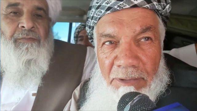 Mohammad Ismail Khan trong video của Taliban đưa ra