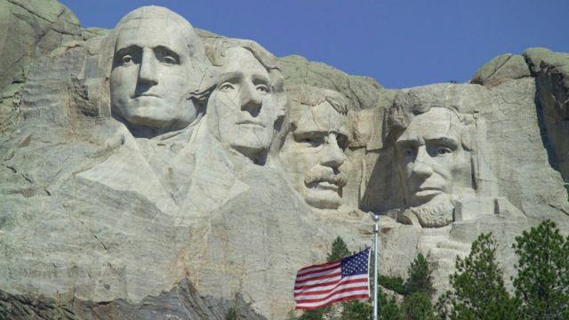 Monte Rushmore, en Dakota del Sur, Estados Unidos