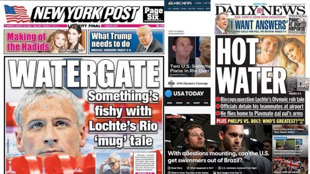 Jornais americanos repercutem caso