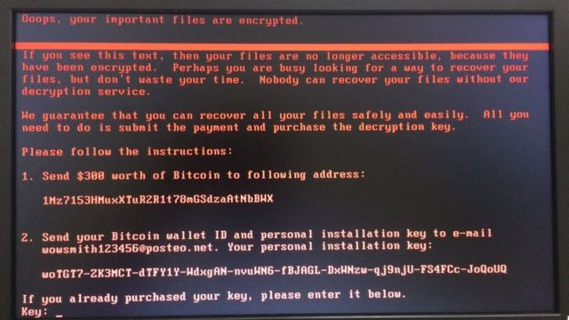 Pedido de resgate após ataque cibernético invadir os hospitais do HC de Barretos