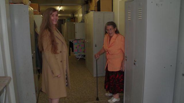 Людмила Бобова з мамою