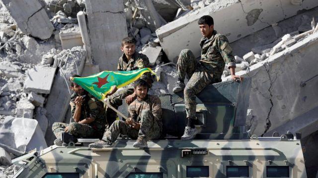 Курды в Ракке