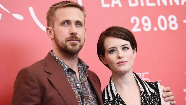 الممثلة كلير فوي شاركت الممثل رايان غوزلينغ في بطولة الفيلم