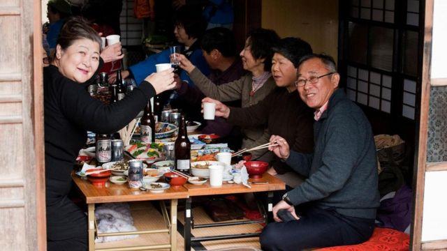 日本老年人