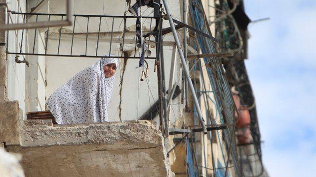 Aleppo balcony