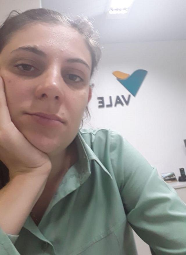 Letícia Mara Anisio Almeida, de 28 anos, é enfermeira, funcionária da Vale e tem um filho de 1 ano e 5 meses