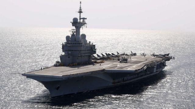 """Francuski nosač """"Šarl de Gol"""" je već služio u operacijama u Siriji"""