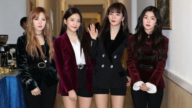 Wendy, Irene, Seulgi y Yeri de Red Velvet