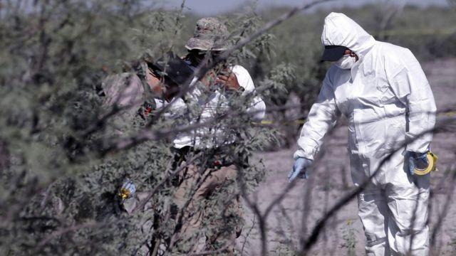 Búsqueda de restos humanos en Coahuila
