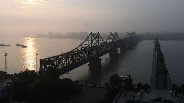 丹东,连接朝鲜和中国的桥梁