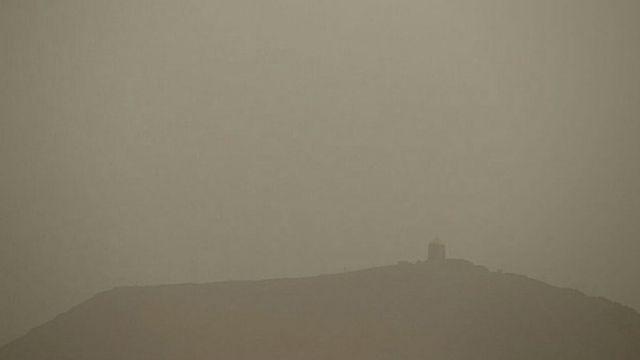 آلودگی هوا در اراک