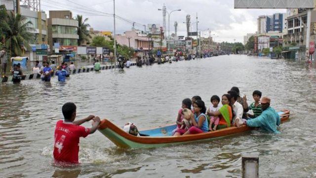 चेन्नई की बारिश