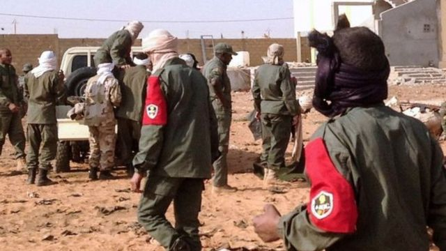 L'attaque a été revendiqué par des jihadistes affiliés à Al Qaida (AQMI)