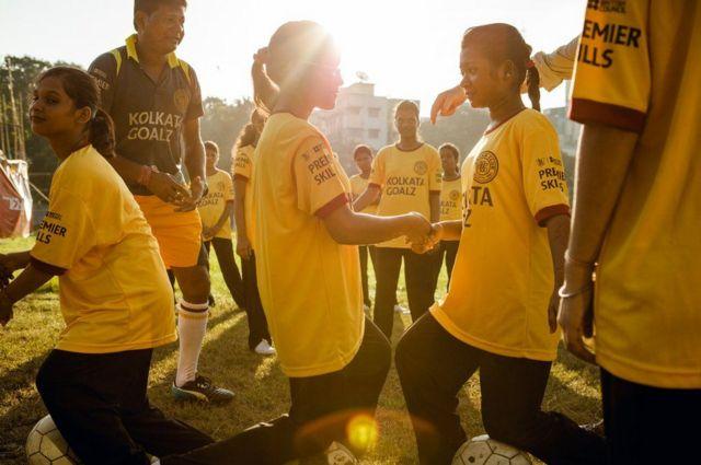 مران كرة قدم للفتيات