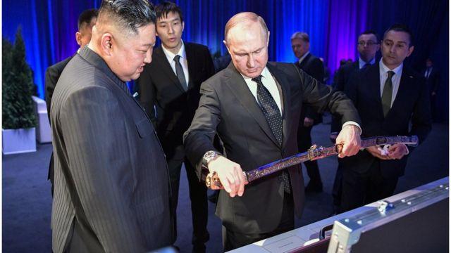 Путин и Ким Чен Ын