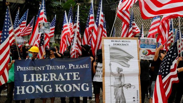Демонстранты требуют прямого вмешательства в ситуацию США