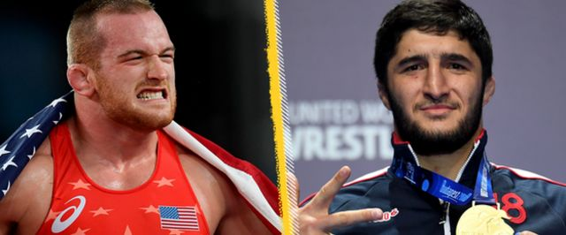 Kyle Snyder and Abdulrashid Sadulaev