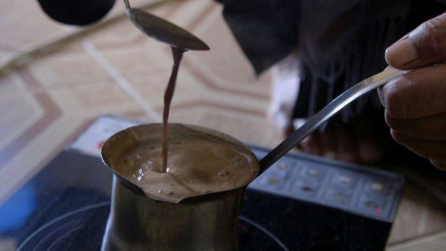 كنكة قهوة.