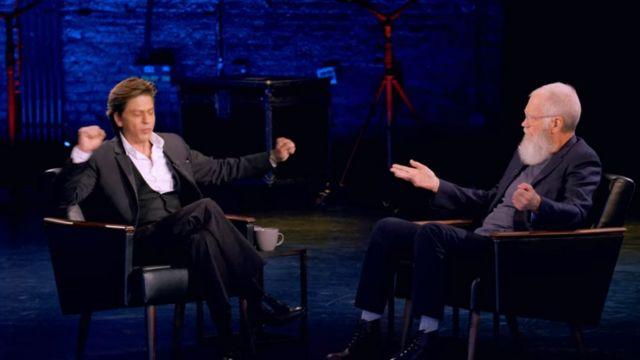 शाहरुख ख़ान ने 'माय नेक्स्ट गेस्ट नीड्स नो इंट्रोडक्शन विद डेविड लेटरमैन' शो में की दिल की बात.