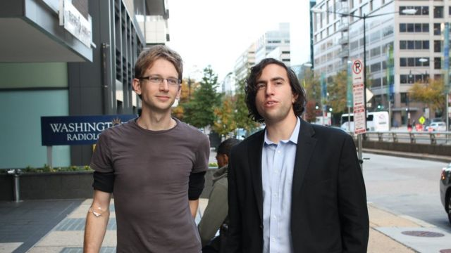 Tristan Roberts y Aaron Traywick