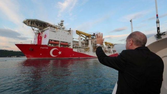 تركيا نشرت قوات بحرية في شرق المتوسط لتأكيد مزاعمها بشأن حقوقها في المنطقة