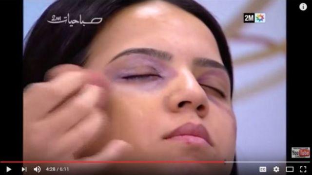 मोरक्को के सरकारी टीवी में प्रसारित एक कार्यक्रम