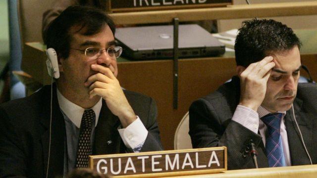 El embajador de Guatemala ante la ONU, Jorge Skinner-Klee