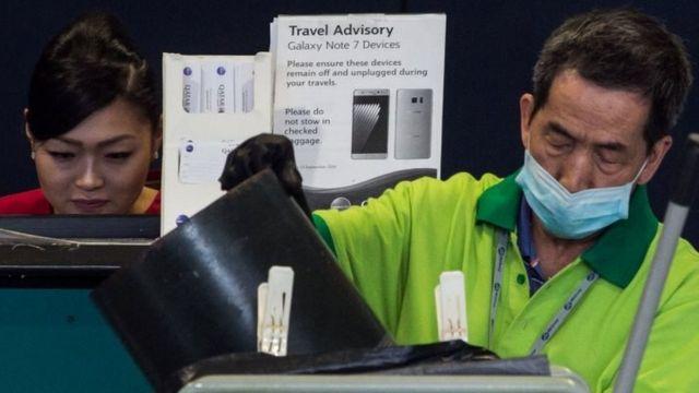 إجراءات حظر في أحد المطارات