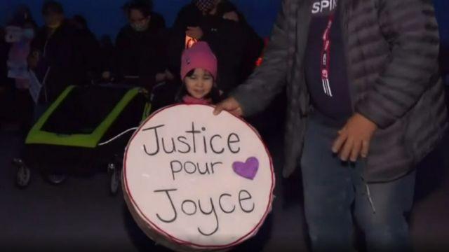 Protesta por Joyce