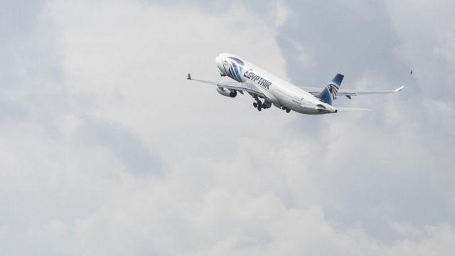 Le vol MS804 d'Egyptair s'est abîmé en Méditerranée avec 66 personnes à son bord, le 19 mai 2016.