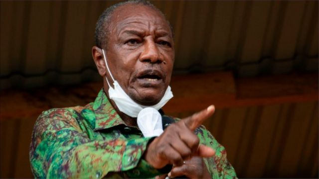 Guinea 'coup': President Alpha Conde fate for Conakry dey unclear as  reports of im arrest by security forces dey fly - BBC News Pidgin