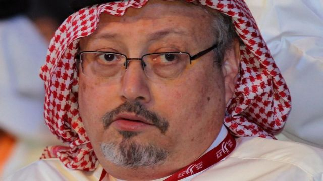File photo of Jamal Khashoggi (8 May 2012)