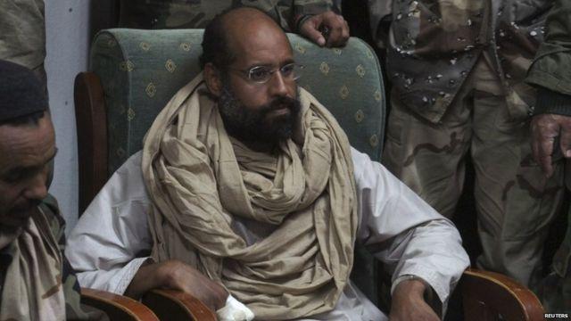Saif al-Islam Gaddafi muri 2011, nyuma y'ifatwa rye.