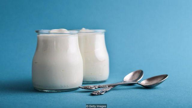 Copo de iogurte