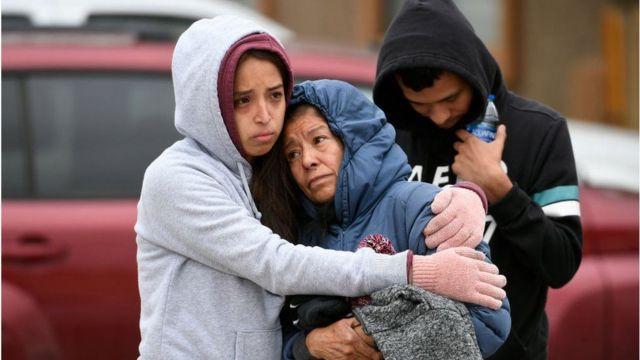 عائلة الضحايا في حالة صدمة